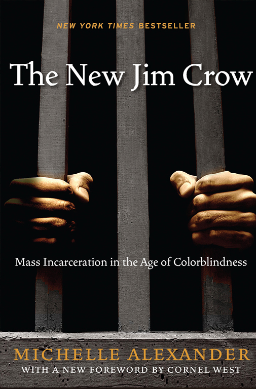 The New Jim Crow: Mass Incarceration in the Age of Colorblindness (New Press, 2010, 312pp.)